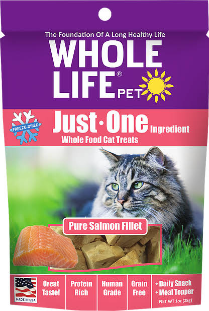Whole Life Cat Treats - Pure Salmon, 28g