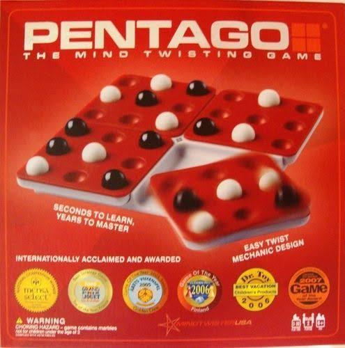 Pentago The Mind Twisting 6 Strategy Marble Game