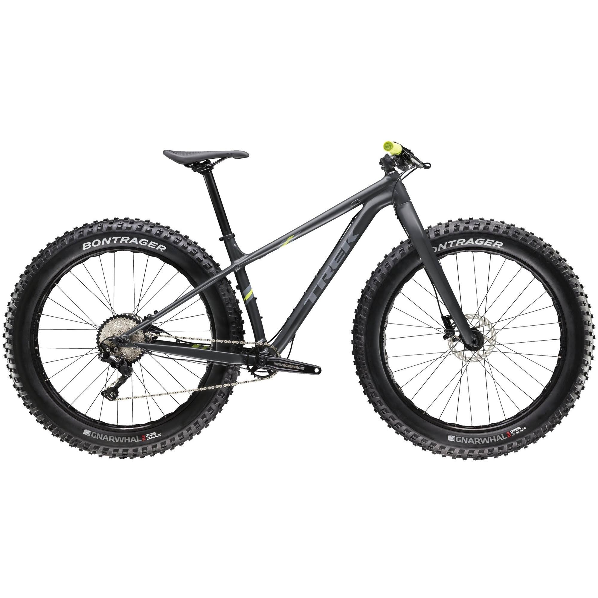 Trek Farley 5 Fat Bike - Matte Solid Charcoal