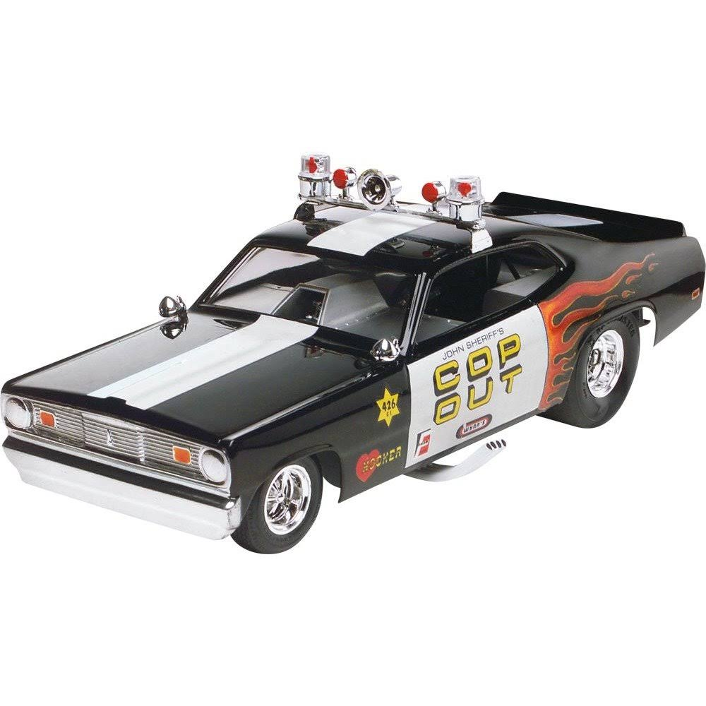 Revell 4093 Plymouth Duster Cop Out Funny Car Model Kit - 1:24 Scale
