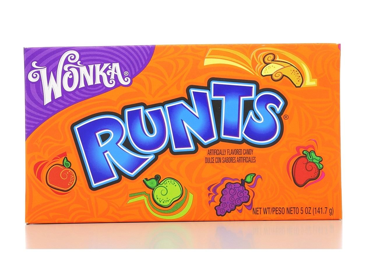 Wonka Runts Candy Box - 141.7g