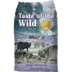Taste Of The Wild Sierra Mountain Dog Food - Canine Formula With Roasted Lamb