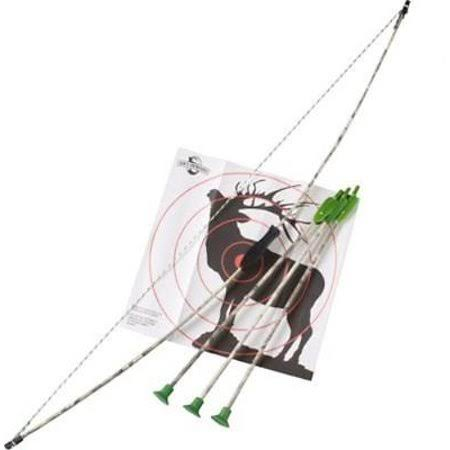 Big Game Jr. Archery Bow - Camouflage, 3 Arrows, Target, 39""
