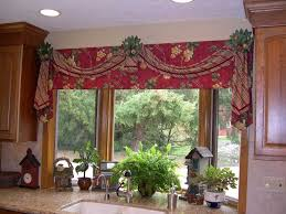 Pink Ruffle Curtain Topper by Kitchen Valance Ideas Loose And Light Valances House Of Turquoise