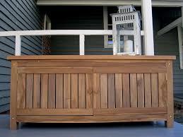 Build Outdoor Storage Bench by Build Teak Outdoor Storage Bench U2014 Railing Stairs And Kitchen