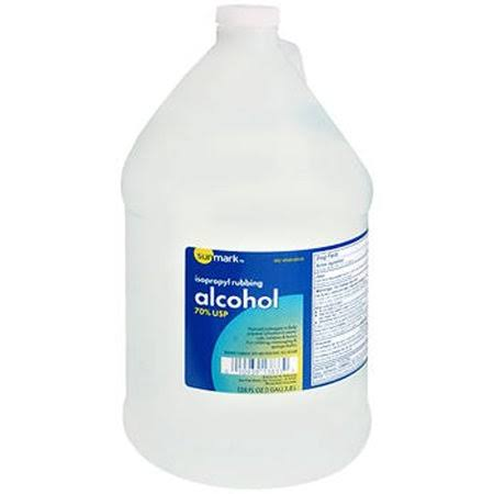 Sunmark Isopropyl Rubbing Alcohol - 70% USP, 128oz