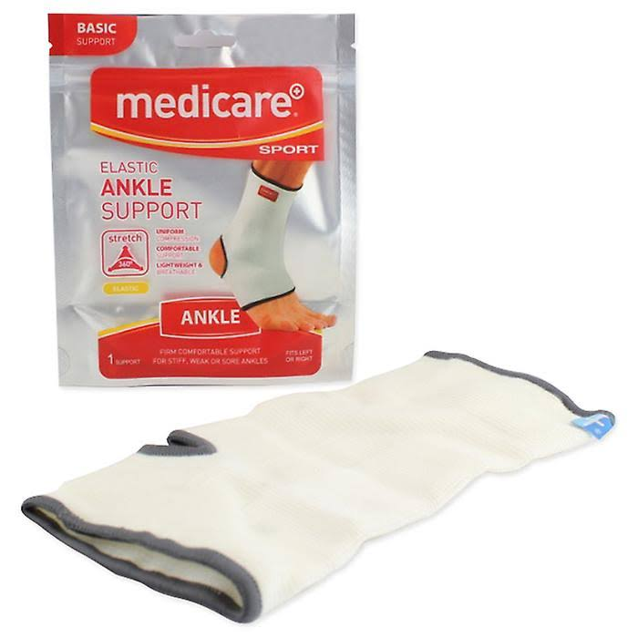 Medicare Sport Elasticated Ankle Support Small