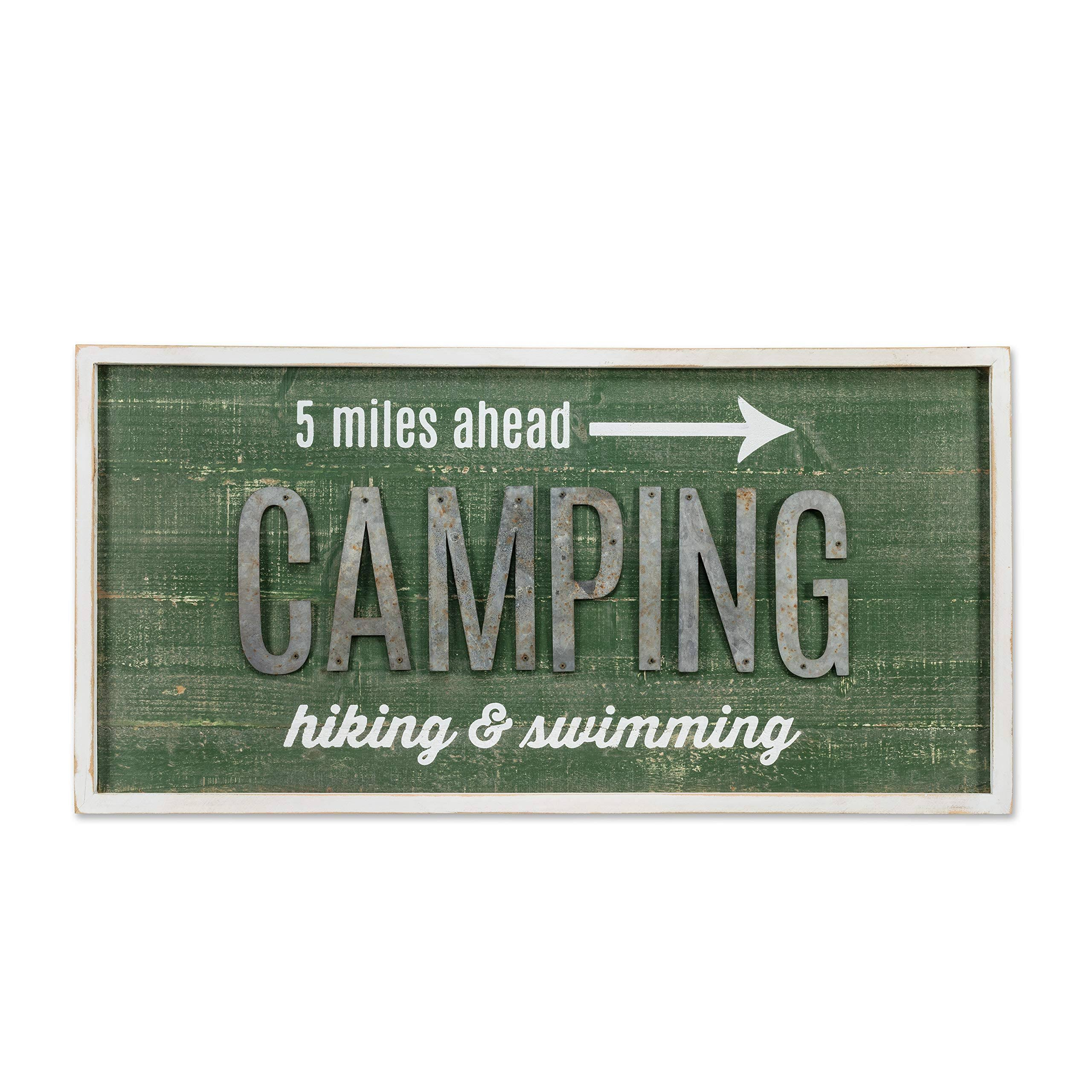 Abbott 'Camping' Wall Sign One-Size