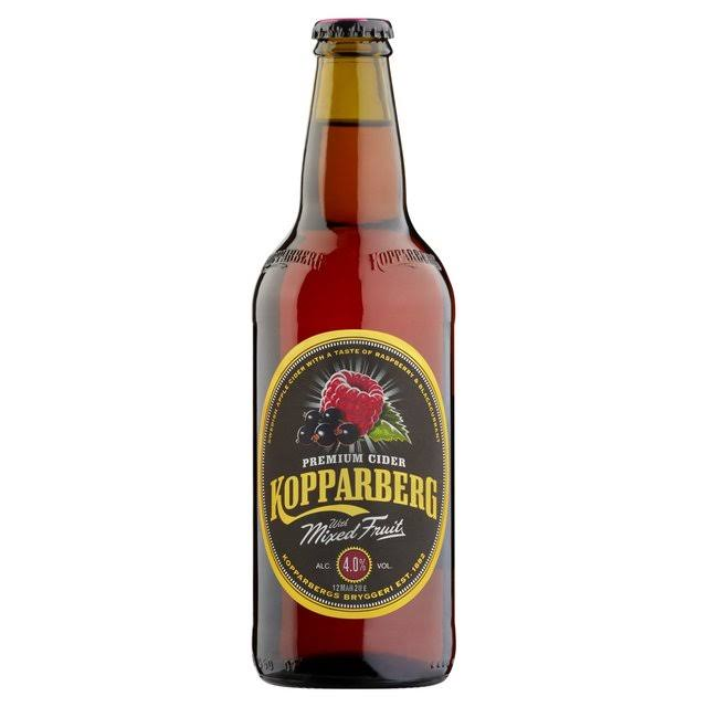 Kopparberg Premium Cider - with Mixed Fruit, 500ml