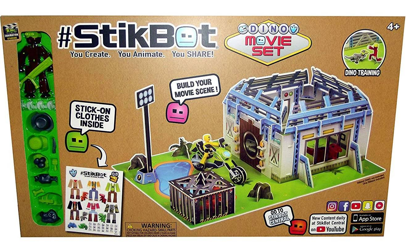 Stikbot Dino Movie Set