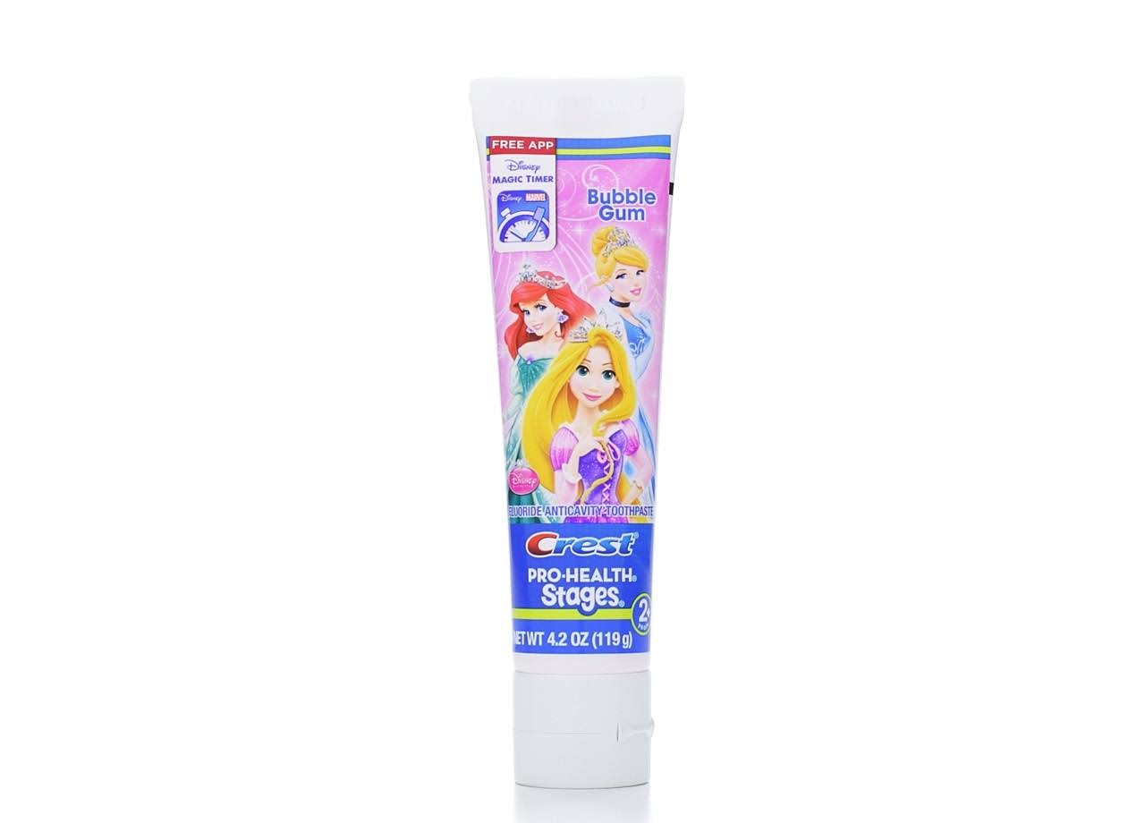 Crest Pro Health Stages Disney Princess Kid's Toothpaste - 4.2oz, Pack of 12