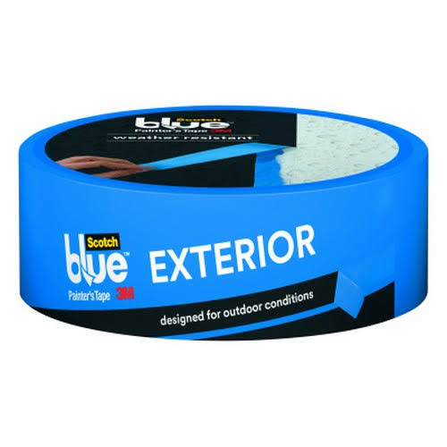 "3M ScotchBlue Exterior Surfaces Painters Tape - 1.41"" x 45yd"