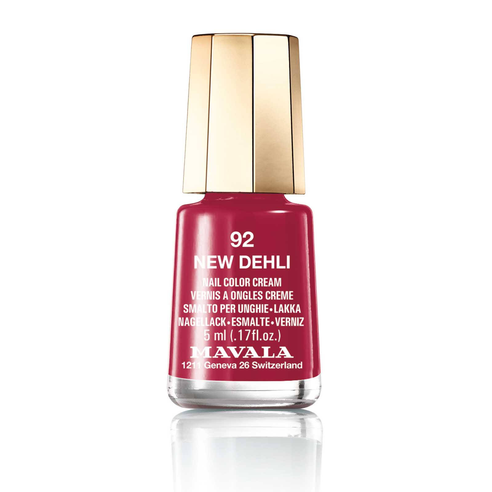 Mavala Switzerland Nail Color Cream 92 New Delhi