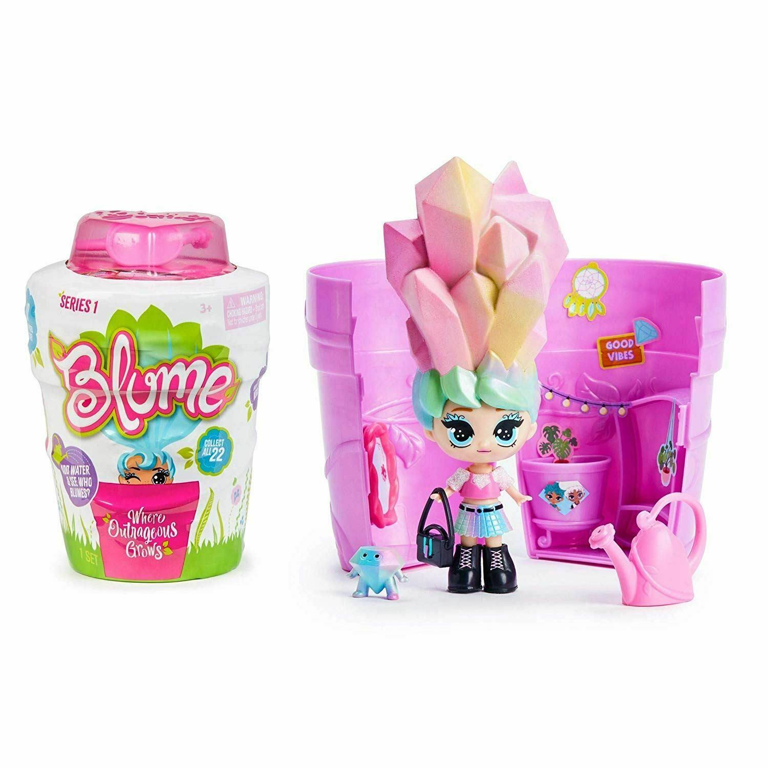 Blume Series 1 Surprise Growing Doll Toy