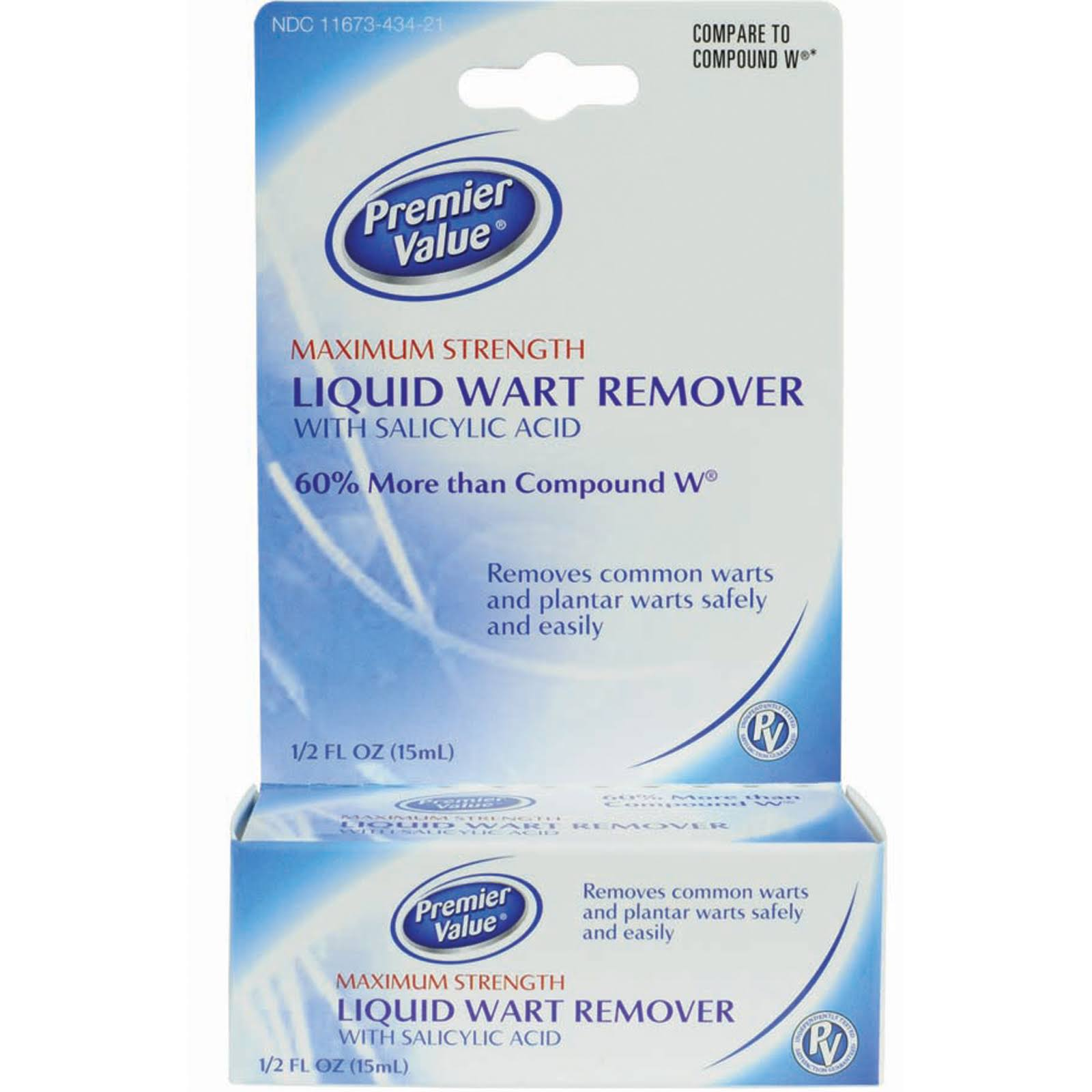 Premier Value Liquid Wart Remover - .5oz