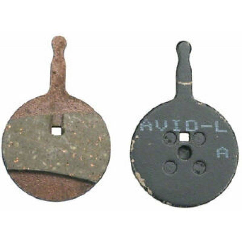 Avid BB5 Organic Aluminium Bicycle Disc Pads - Pair