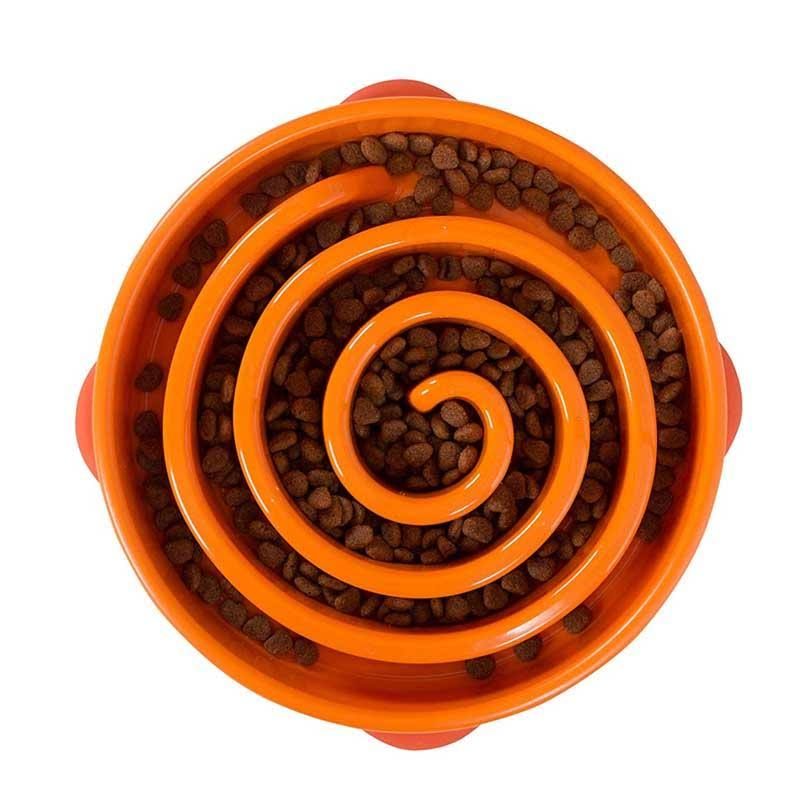 Outward Hound Fun Feeder - Orange