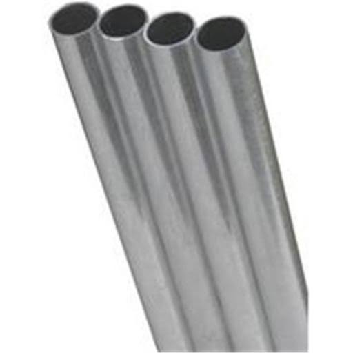 "K & S Engineering Steel Tube - Stainless, 1/2""x.028"""