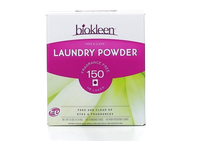 Bio Kleen Free and Clear Laundry Powder - 10lbs