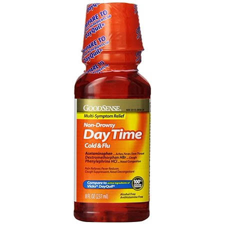 Good Sense Daytime Cold and Flu Multi-Symptom Relief - 8oz