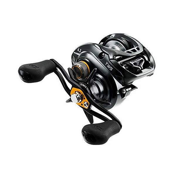 Daiwa Tatula TASV103H Baitcasting Right Hand Fishing Reel - Black, 6:3:1, 25.7""