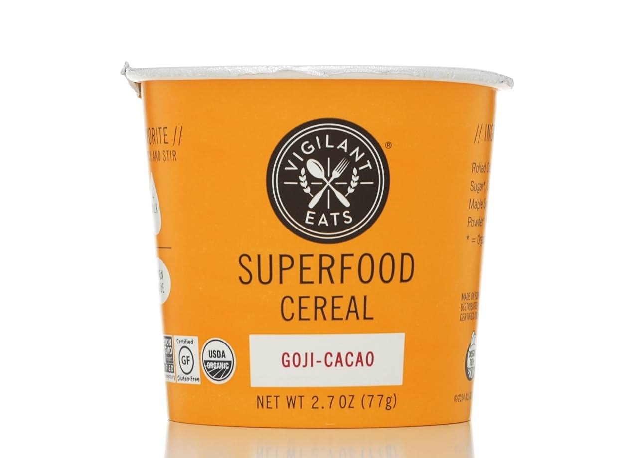 Organic Superfood Oat-Based Cereal - 3oz, Goji Cacao