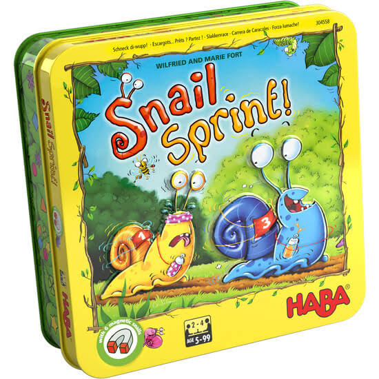Haba Snail Sprint Board Game