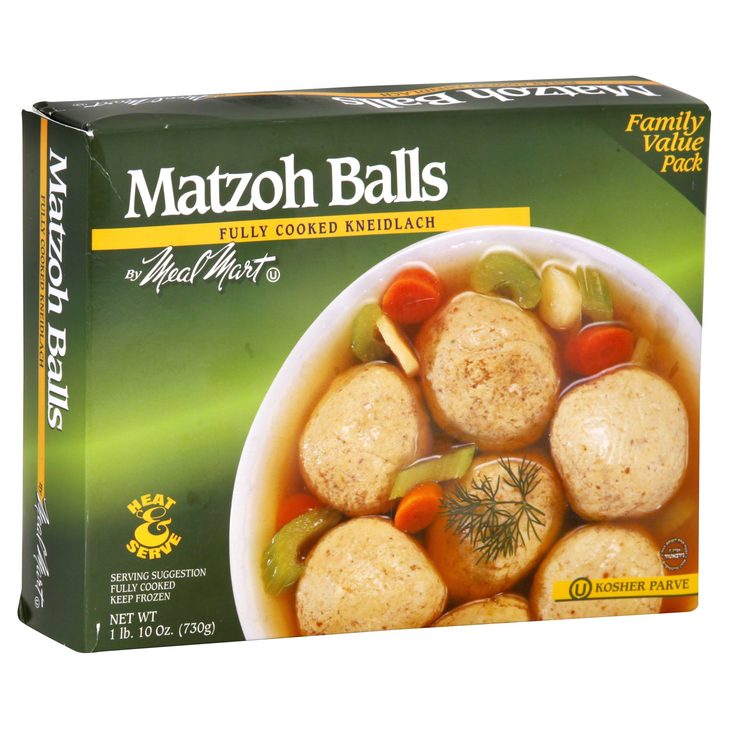 Meal Mart Matzoh Balls, Family Value Pack - 26 oz