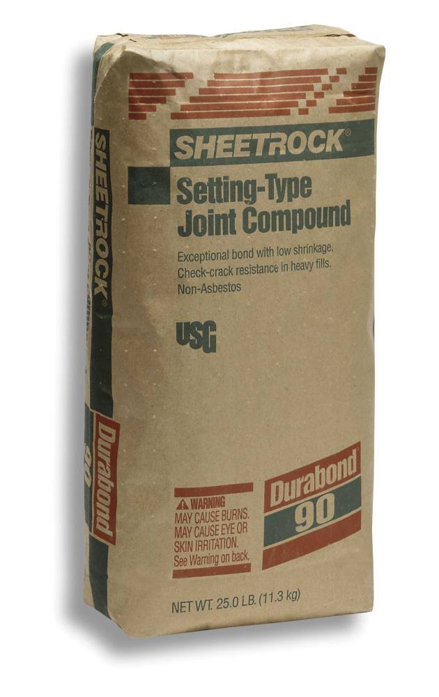 US GYPSUM Sheetrock Setting-Type 90 Joint Compound - 25lbs