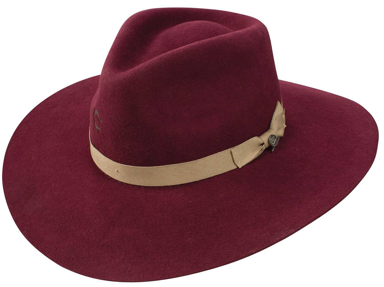 Charlie 1 Horse Women's Highway Burgundy Hat