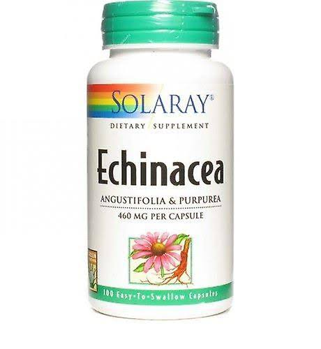 Solaray Echinacea Dietary Supplement - 100 Count