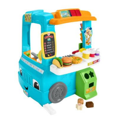 Fisher-Price DYM74 Laugh and Learn Servin' Up Fun Food Truck