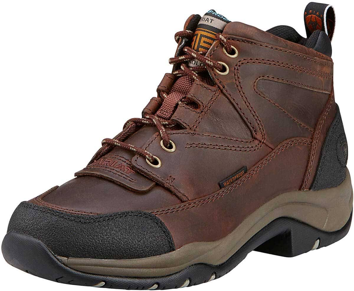 Ariat Women's Terrain H2O Hiking Boots - Copper, 7.5 US