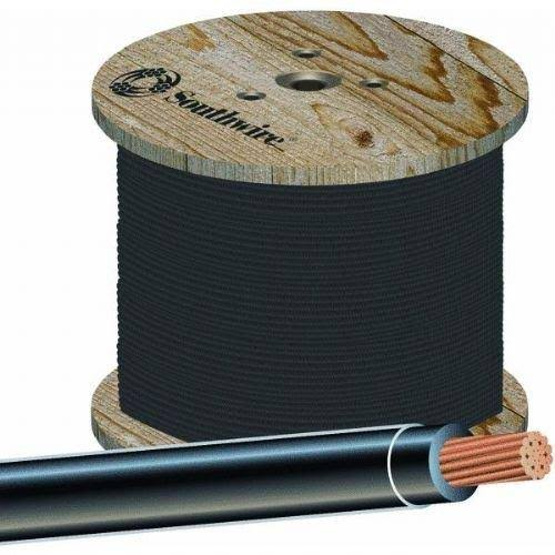Southwire 22955958 Stranded THHN Wire - Black, 500', 14 Gauge