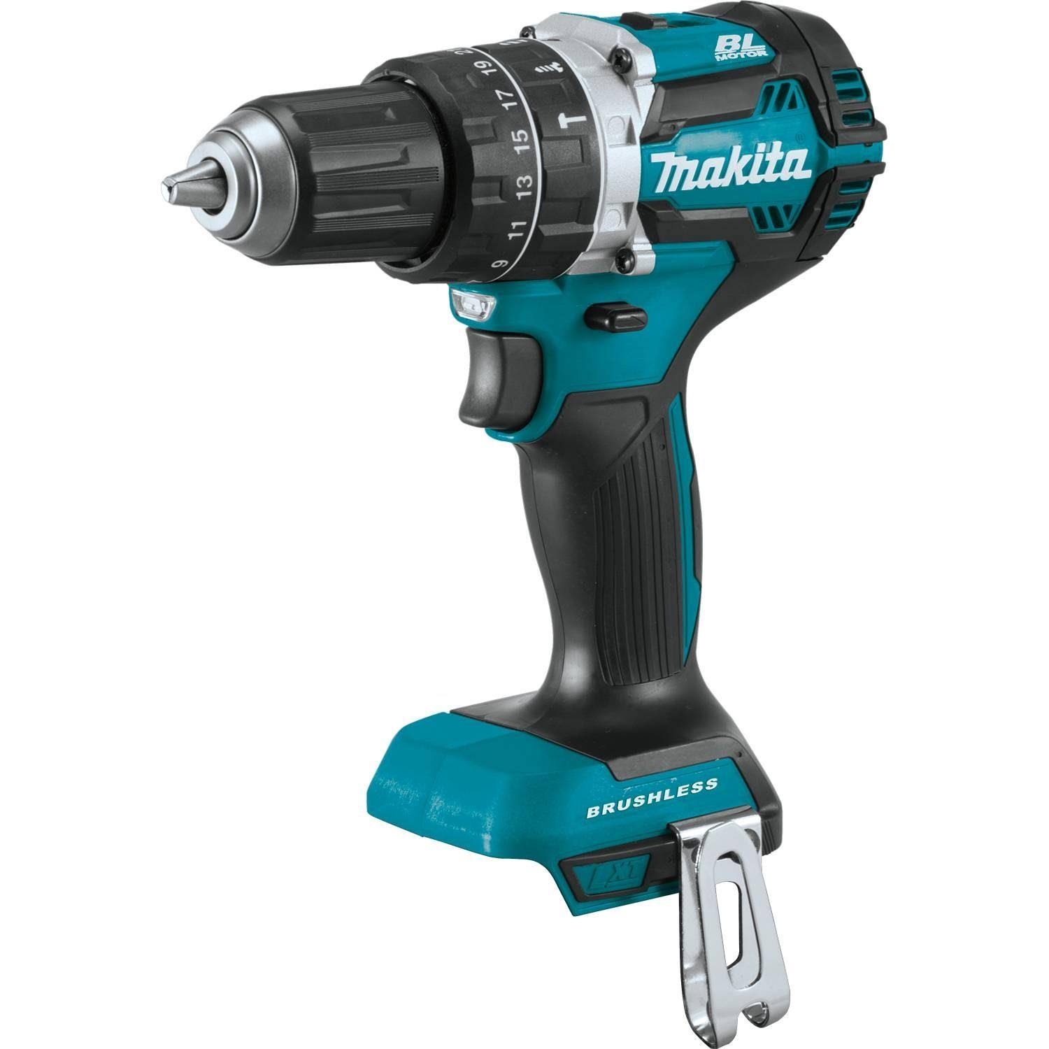"Makita XPH12Z 18V LXT Lithium-Ion 1/2"" Brushless Cordless Hammer Driver-Drill (Tool Only)"