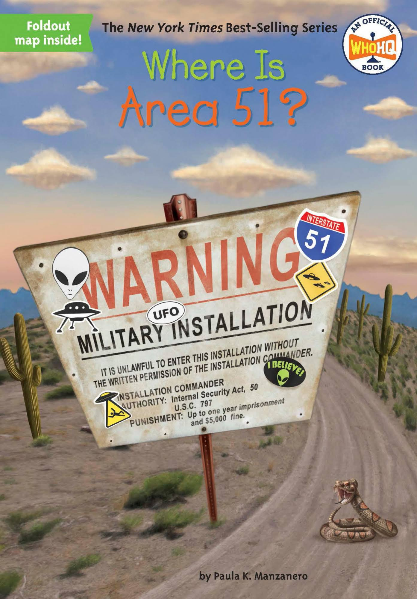 Where Is Area 51? - Paula K. Manzanero