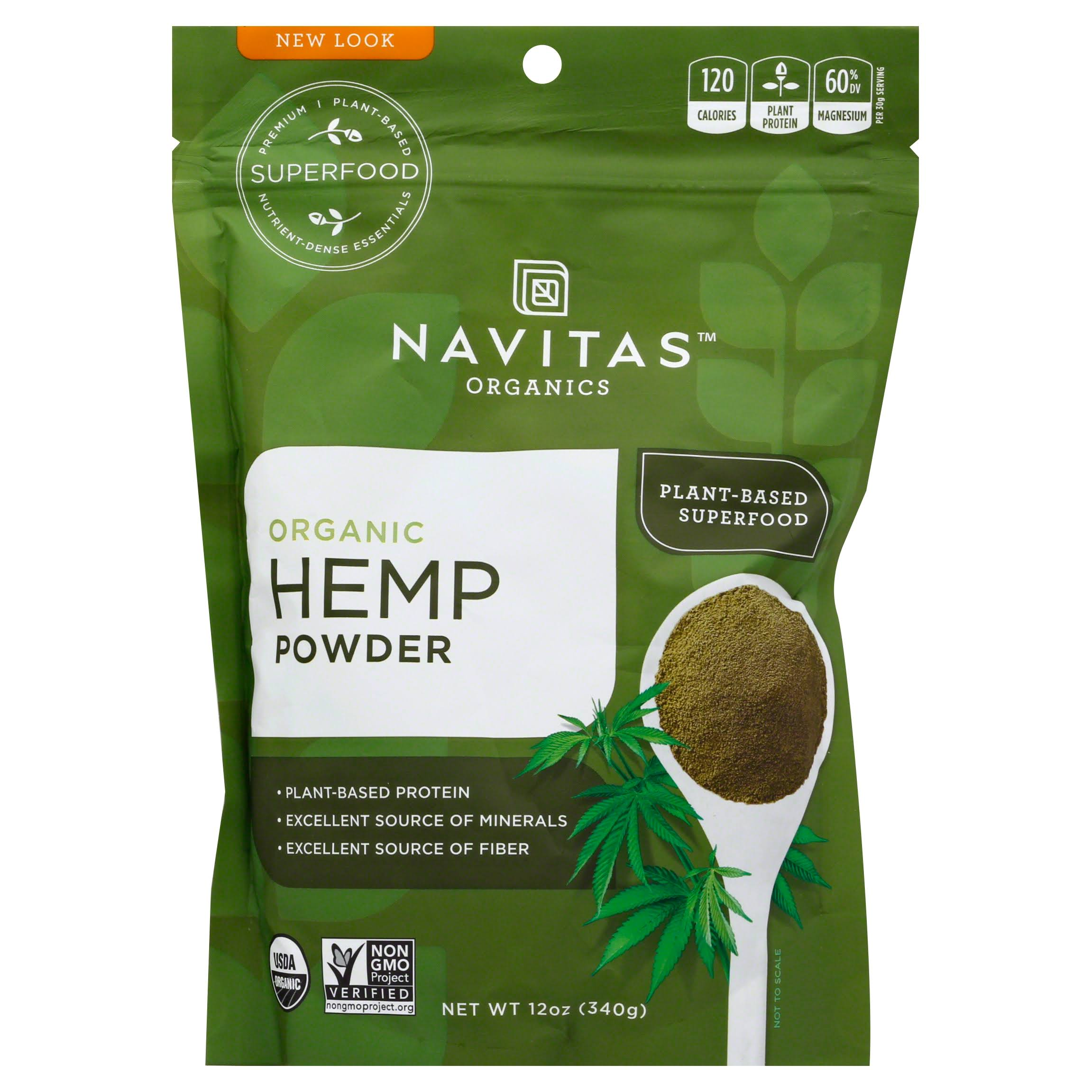 Navitas Naturals Organic Raw Hemp Protein Powder