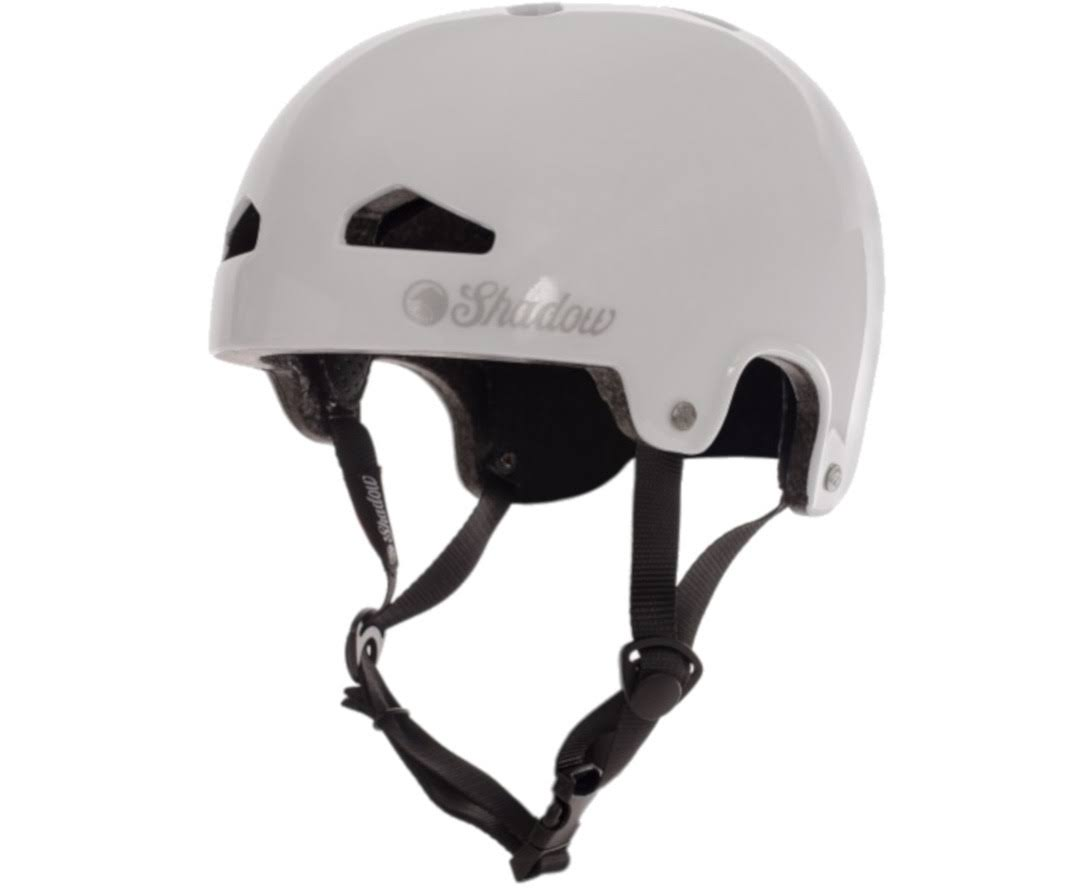 The Shadow Conspiracy Featherweight Helmet: Gloss White LG/XL