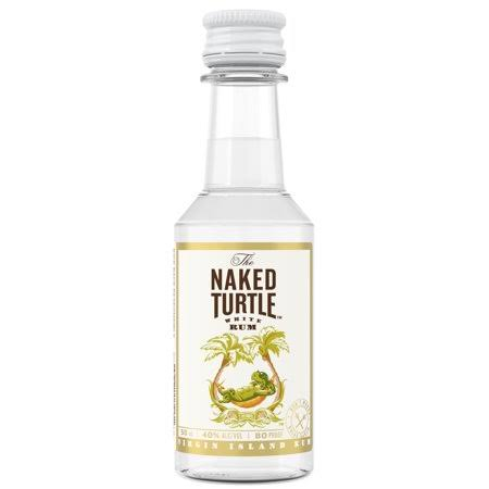 Naked Turtle Rum - 50ml Bottle, Size: 50 ml