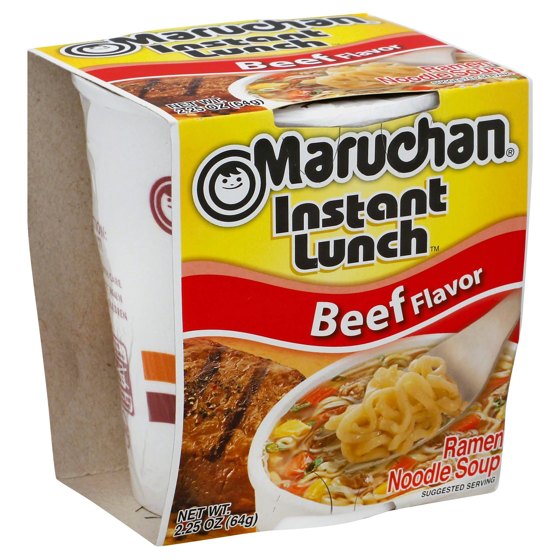 Maruchan Instant Lunch Beef Flavor Ramen Noodles with Vegetables - 2.25oz