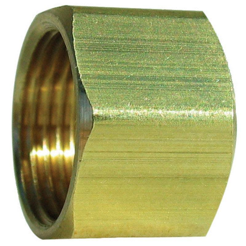 JMF 41225 Compression Nut - Brass, 1/2""