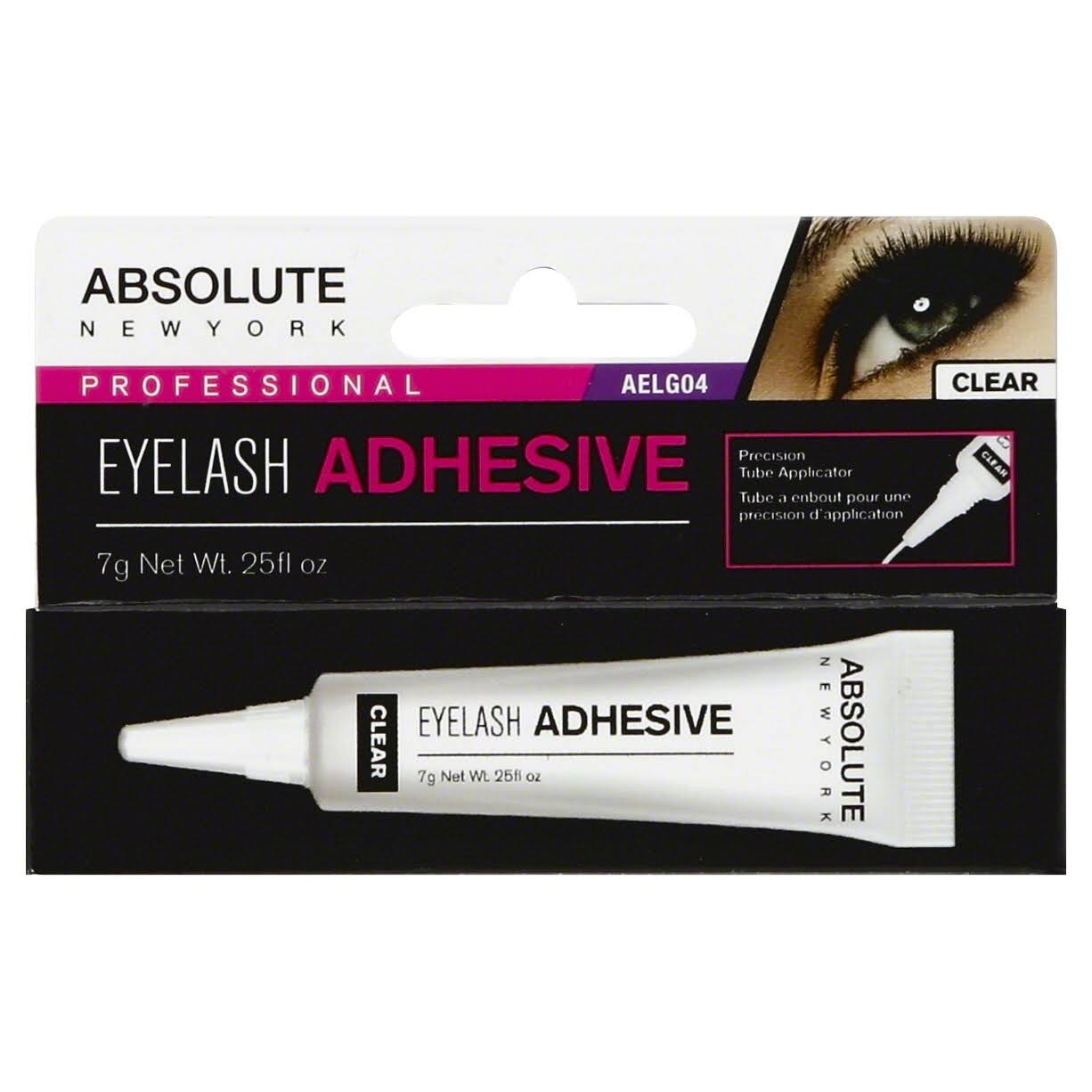 Absolute New York Adhesive Lash Glue - Clear, 7g