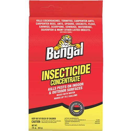 Bengal Insecticide Concentrate - 2oz