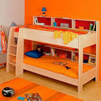 Wood Bunk Bed Kids Rooms with Double Loft Beds - Home Design Ideas ... - Toddler Bunk Beds