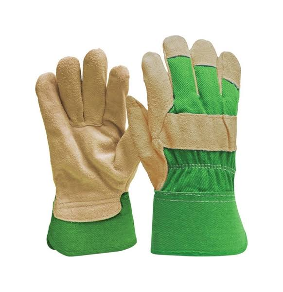 Digz Women's Suede Leather Palm Gloves