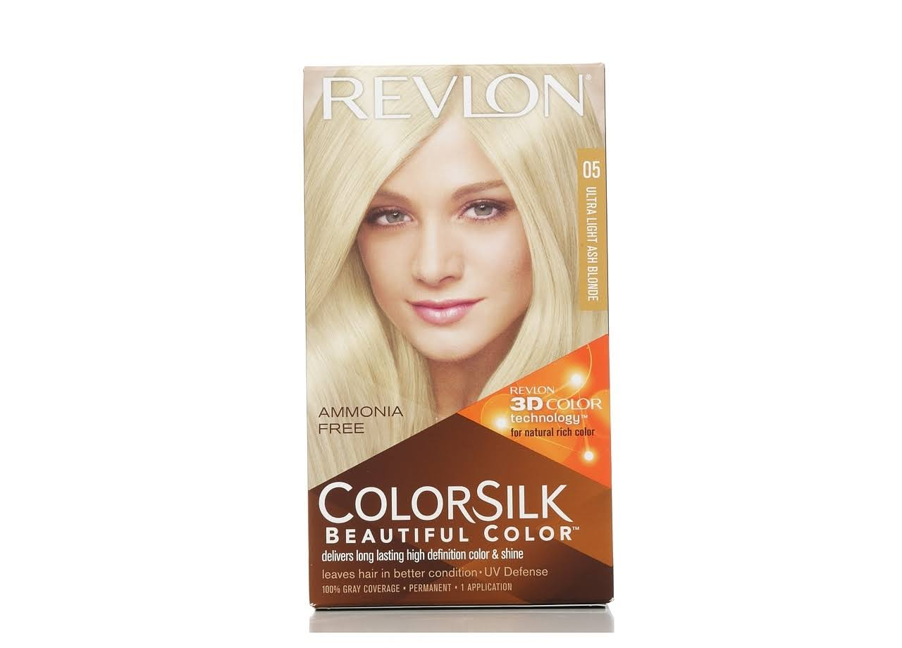 Revlon Colorsilk Beautiful Color Permanent Hair Color - 05 Ultra Light Ash Blonde