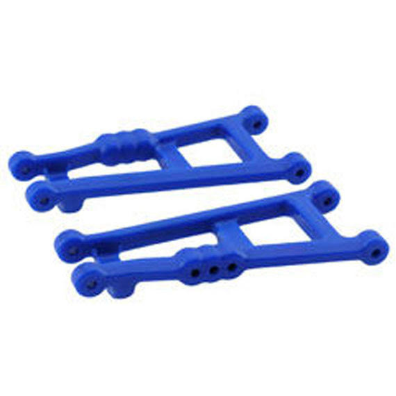 RPM Rear A-Arms E Monster Jam Rustler Stampede - Blue