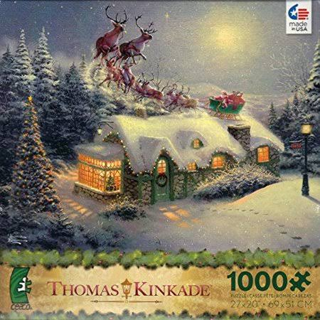 Thomas Kinkade Painter of Light A Victorian Christmas Carol Jigsaw Puzzle - 1000pc