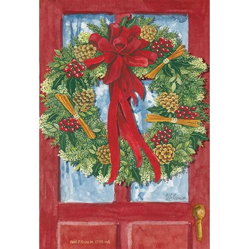 Fresh Scents Scented Sachet - Red Door Wreath, Set of 6