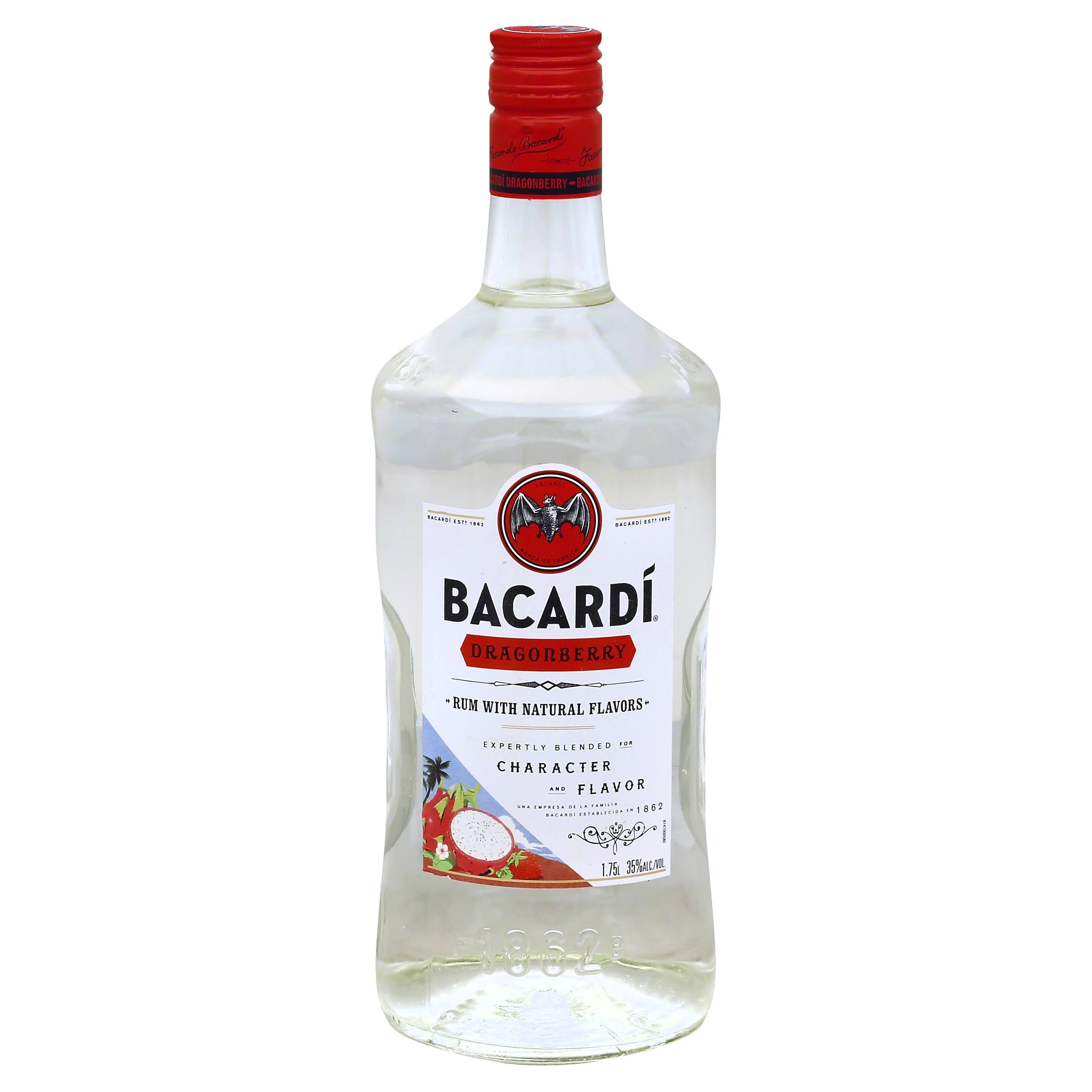 Bacardi Dragonberry Rum - Strawberry, 1.75L